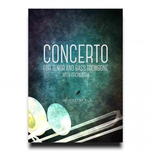 CONCERTO FOR TENOR TROMBONE, BASS TROMBONE AND ORCHESTRA